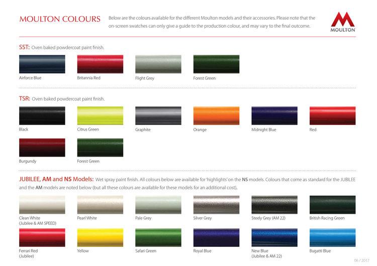 Moulton couleurs
